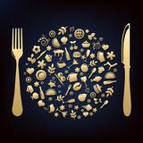 Fototapety Restaurant Design