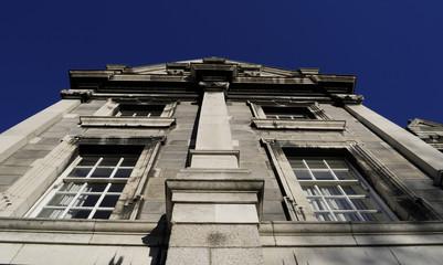 Trinity College Front Dublin, Ireland (Irland)