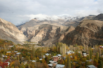 Berglandschaft in Ostanatolien - Türkei