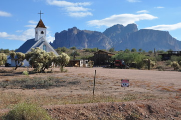 Superstition Mountain Museum in Arizona