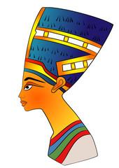 Queen of Ancient Egypt - vector