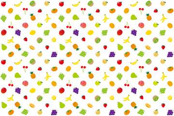 フルーツのパターン