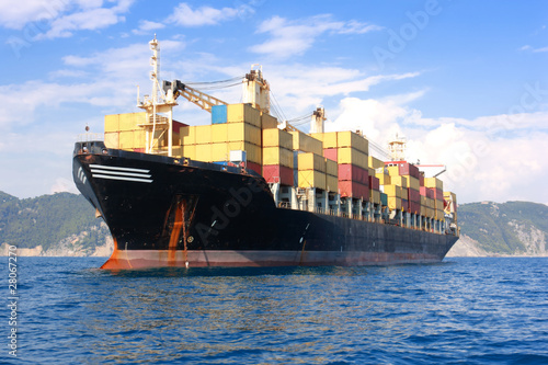 transportation, containers ship - 28067270