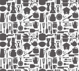seamless kitchen pattern