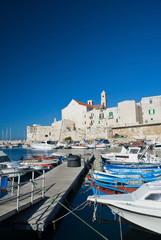 View of Giovinazzo. Apulia.