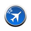 Botón glossy Aeropuerto