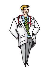 Başarılı güleryüzlü yardımsever tıp doktoru