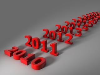 Neues Jahr 2011