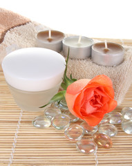 cream and roses, beauty spa