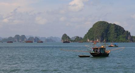 Halong Bay Fishing Boat