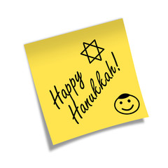 Post-it HAPPY HANUKKAH
