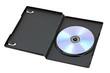 DVD or CD disk in opened box