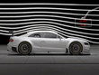Motorsport Rennwagen im Wind Tunnel test