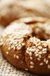 fresh wholegrain bread