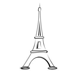 tour Eiffel main levée