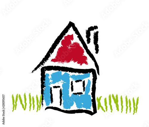 Haus strichzeichnung  GamesAgeddon - Erste gemeinsame Wohnung - Lizenzfreie Fotos ...
