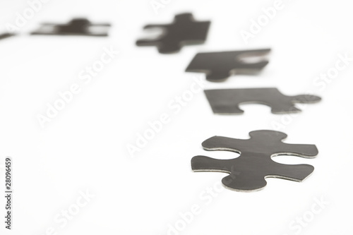different black puzzle