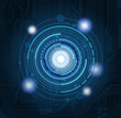 Abstract technology theme background. Eps10