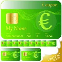 coupon karte euro