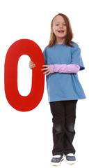 """Letter """"O"""" girl"""