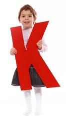 """Letter """"K"""" girl"""
