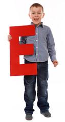 "Letter ""E"" boy"