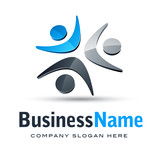 Fototapety logo homme