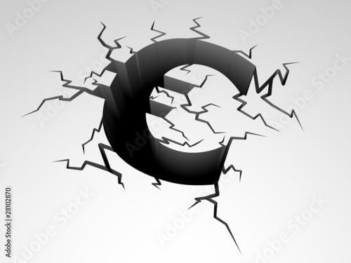 Absturz Euro