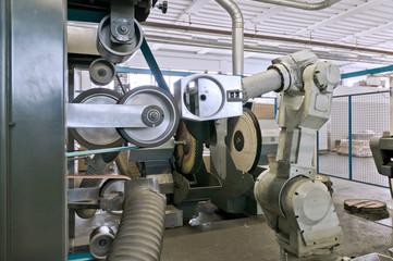 Robot per lucidatura metalli
