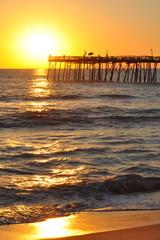 Outer Banks Pier Sunrise