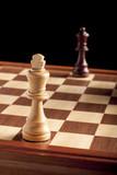 Chess, King versus Queen poster