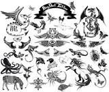 big set tattoo