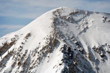 Ski Mountain in Utah Covered in Fresh Snow