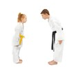 Karate boy and girl