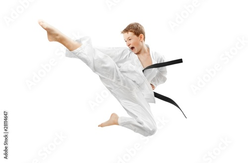 Foto op Aluminium Vechtsport Martial arts boy