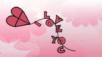 Walentynki- miłosny latawiec
