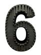 Forge metal font rivet