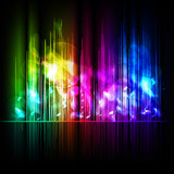 Abstract multicolored background - 28124075