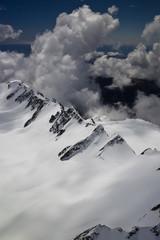 Vue aérienne - sommet Mont Cook 5