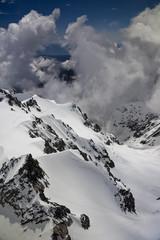 Vue aérienne - sommet Mont Cook 6