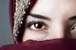 Fototapeten,islam,kopftuch,auge,muslim