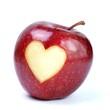 Apfel - Herz