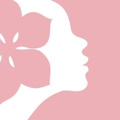 Woman beauty icon