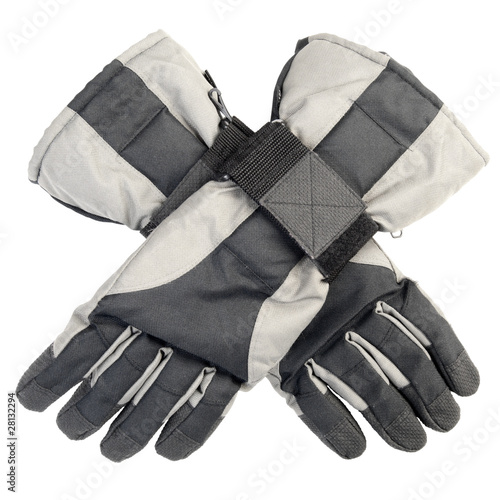 Long sports winter gloves | Isolated