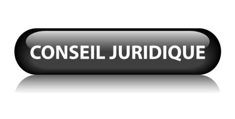 Bouton Web CONSEIL JURIDIQUE (loi légal justice droits avocat)