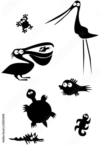 Animal Silhouettes 2