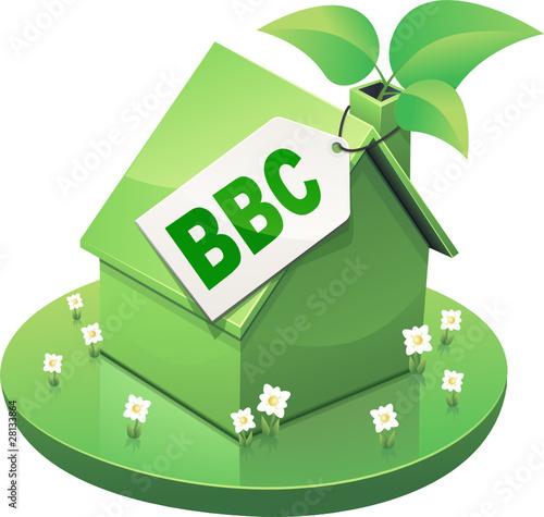 Maison verte au norme bbc d tour de onidji fichier for Norme maison bbc