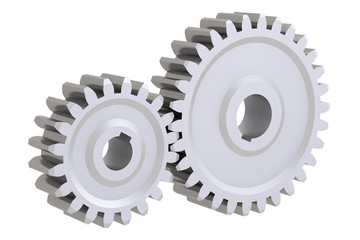 Connecting gears