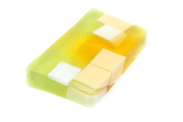 Apple transparent fruit soap