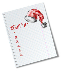 Wish list for Santa